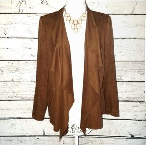Zara | Suede Like Blazer Brown | Medium